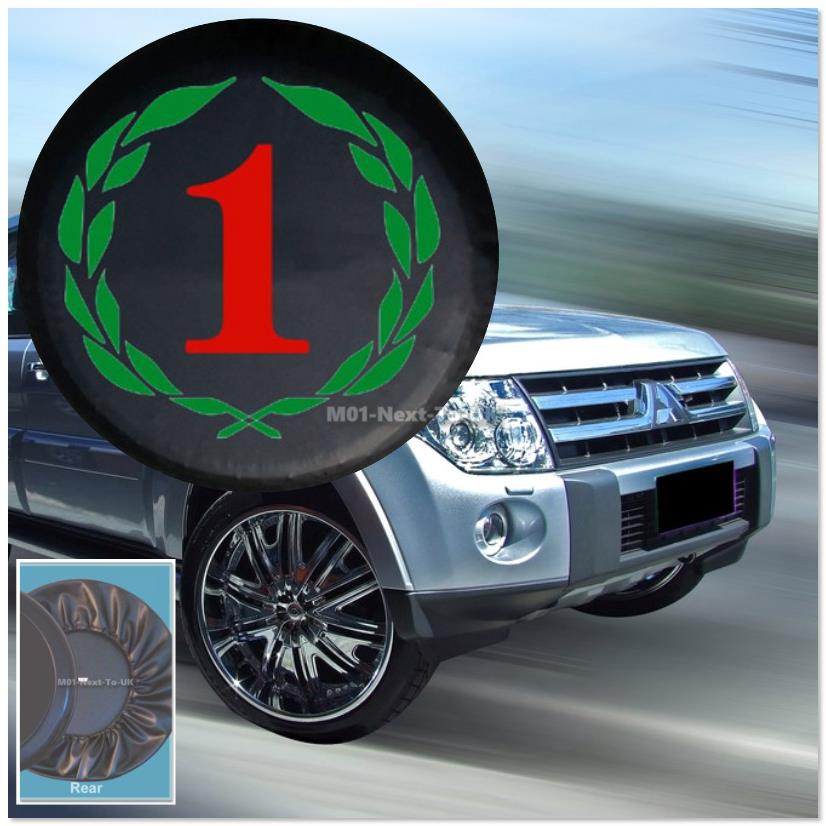 Universal Number One CY13 Soft Rear Spare Wheel Cover Jeep Tyre Tire