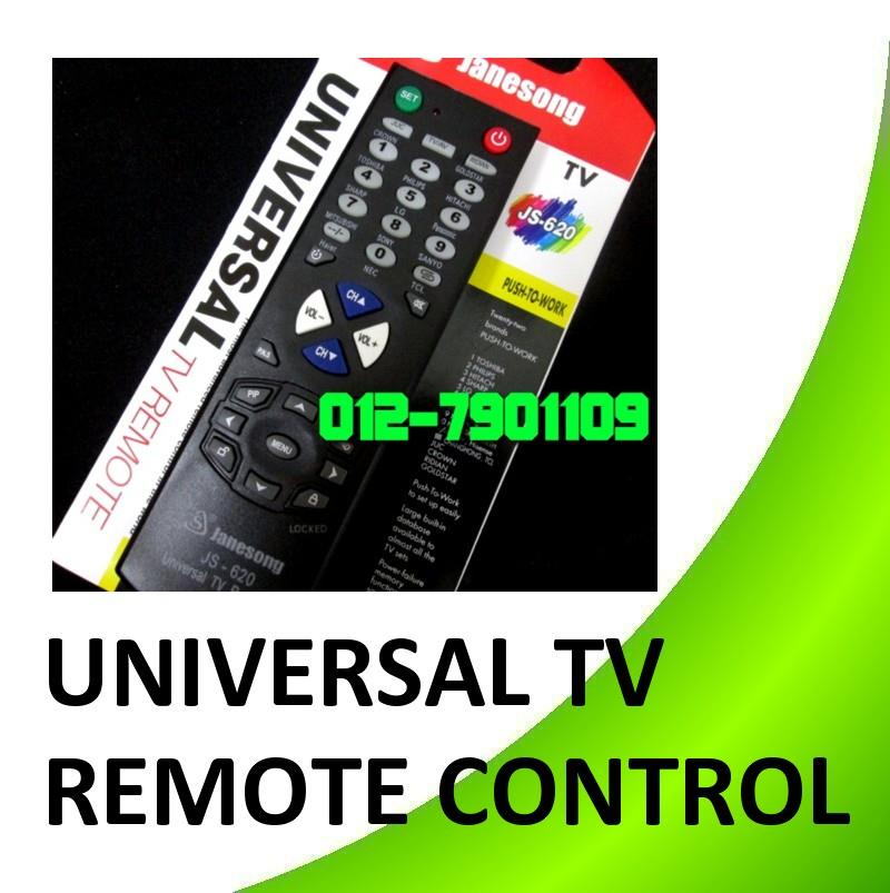 Universal TV Remote Control JS 620