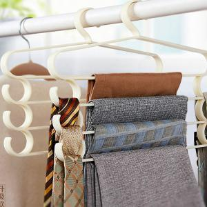Upgrade~Multi-function Pants Hanger with Side Hook