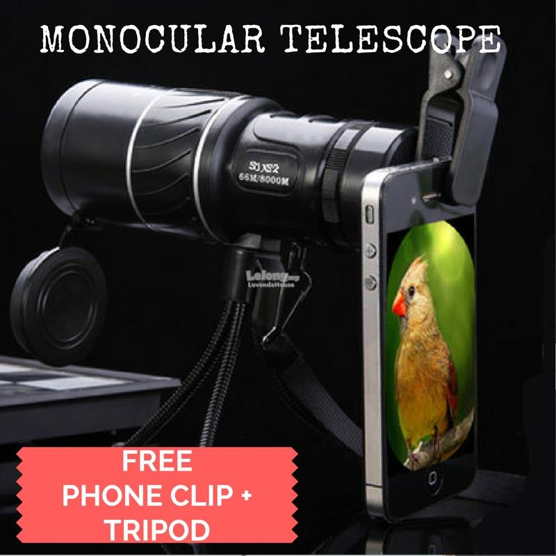 Upgraded Version High definition Monocular Night Vision Telescope Blac