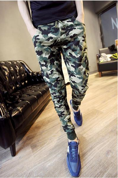 UPL07 Men Women Unisex Army Design Casual Sport  Jogger Long Pants