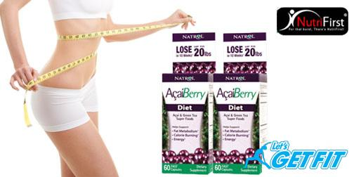 USA Acai Berry Diet x 60 capsules -Slimming pills 1 Bottle