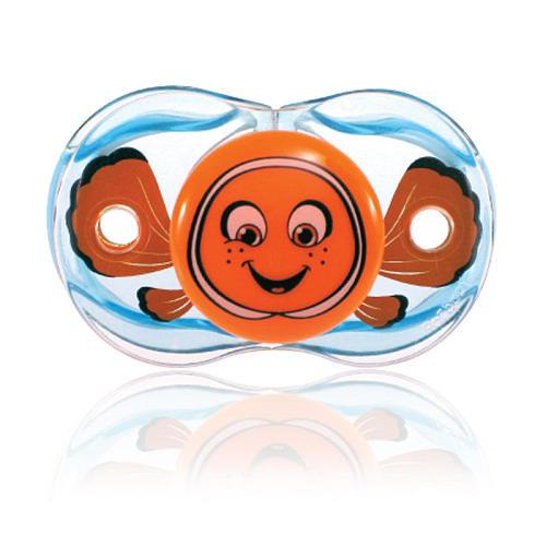 USA awarded brand RAZBABY BPA Free silicon pacifier - Auto Close