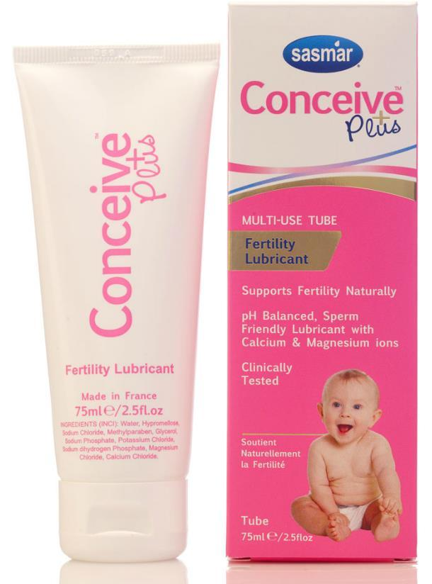 Made in USA CONCEIVE PLUS� FERTILITY LUBRICANT(EXP:01/20..