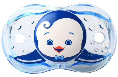 Made in USA RAZBABY BPA Free silicon pacifier - Auto Close while drop