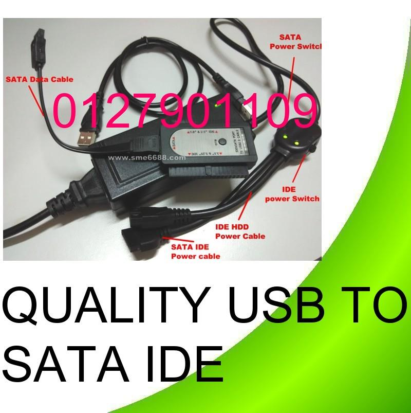 USB 2.0 to Sata Ide 2.5' 3.5' Hard drive Disk Converter Adapter