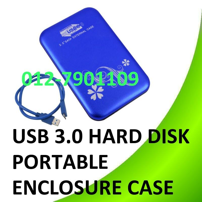 "USB 3.0 2.5"" inch Portable External Hard Disk Enclosure HDD Casing"