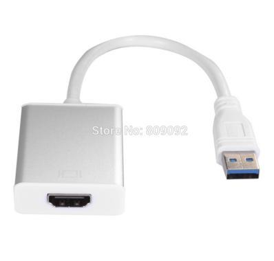USB 3.0 to HDMI Converter Cable Display Graphic Adapter for PC Laptop