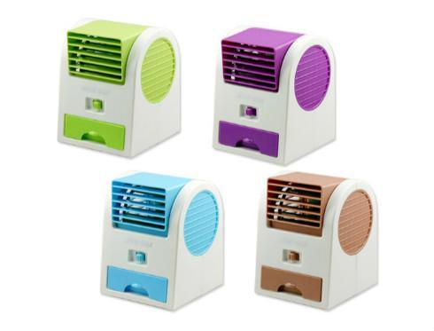 USB Air Conditioning Mini Fan Air Cooler
