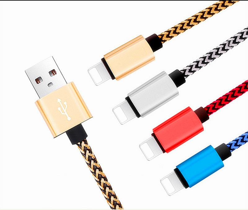 USB Data Sync Charger Lightning Cable Charging Cord