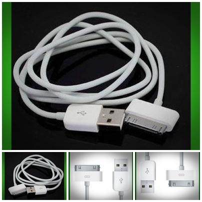 USB Data sync normal cable for iphone ipod nano mini touch - 3 meter -..