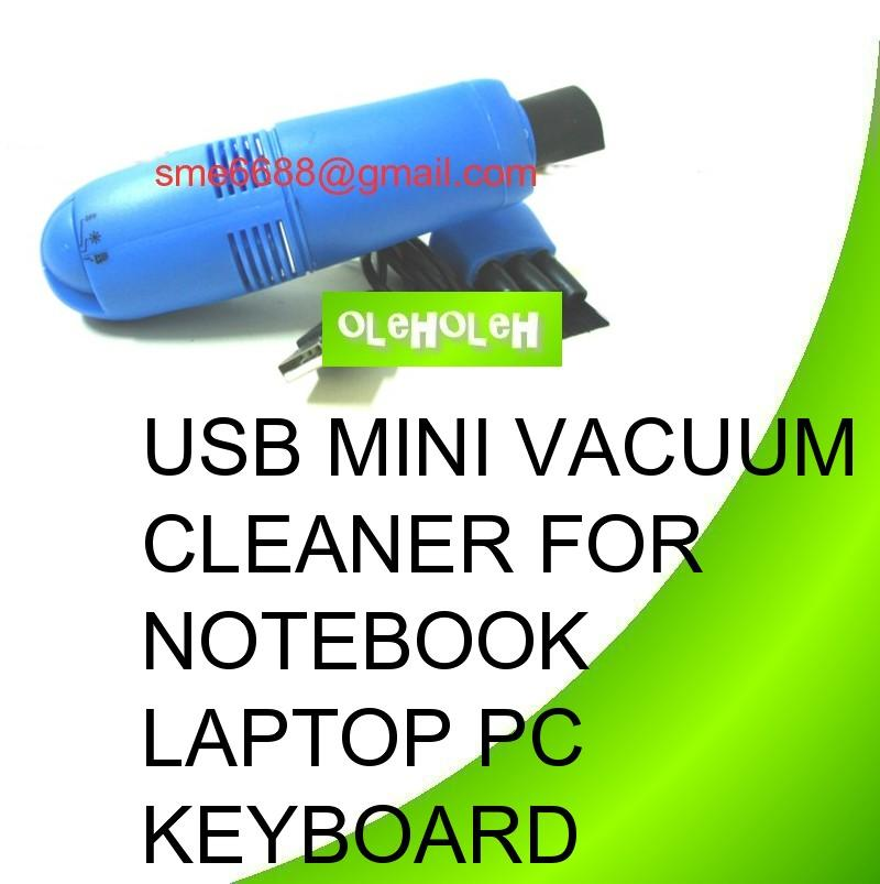 USB Mini Vacuum Cleaner For Notebook Laptop PC Keyboard