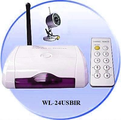 USB RECORDER PLUS WIRELESS NIGHT VISION AUDIO/VIDEO CAMERA (CCTV)-