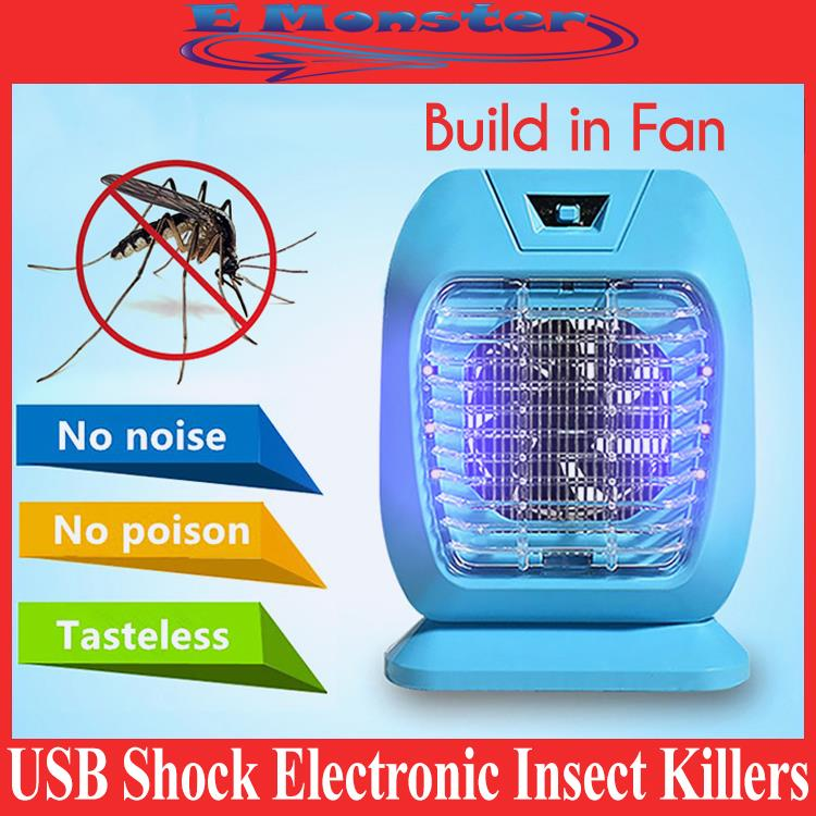USB shock electronic Mosquito Catcher & Killer Insect Pest Repeller
