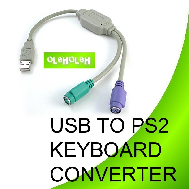 USB to PS2 Keyboard & Mouse