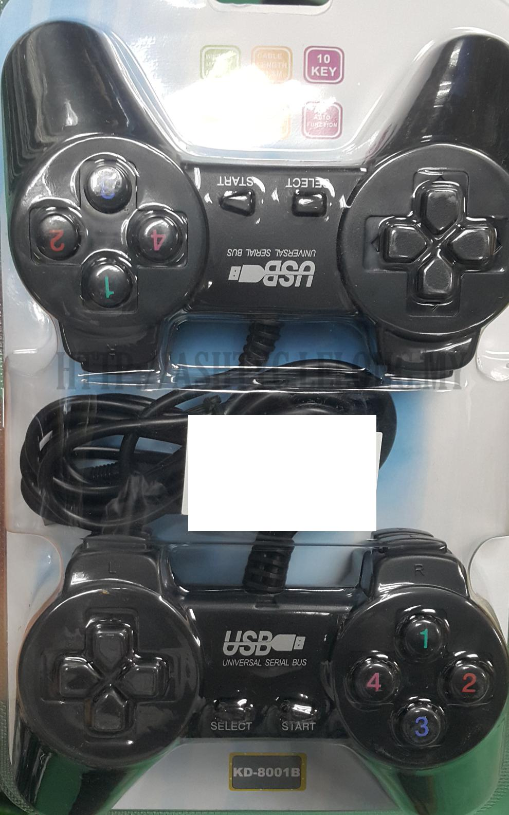 USB TWIN GAMEPAD FOR PC (F-689-1)