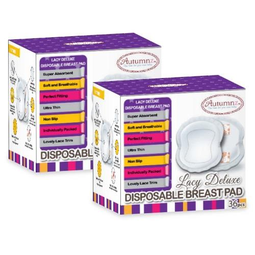 utumnz: LACY Deluxe Disposable Breastpads - 36pcs (2 BOX)