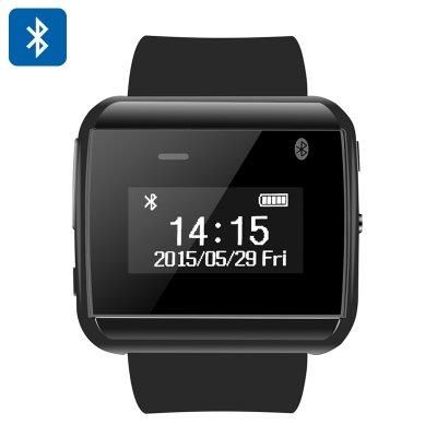 Uwatch 2S Smart Watch - Bluetooth 3.0, Android Devices APP, Phone Sync
