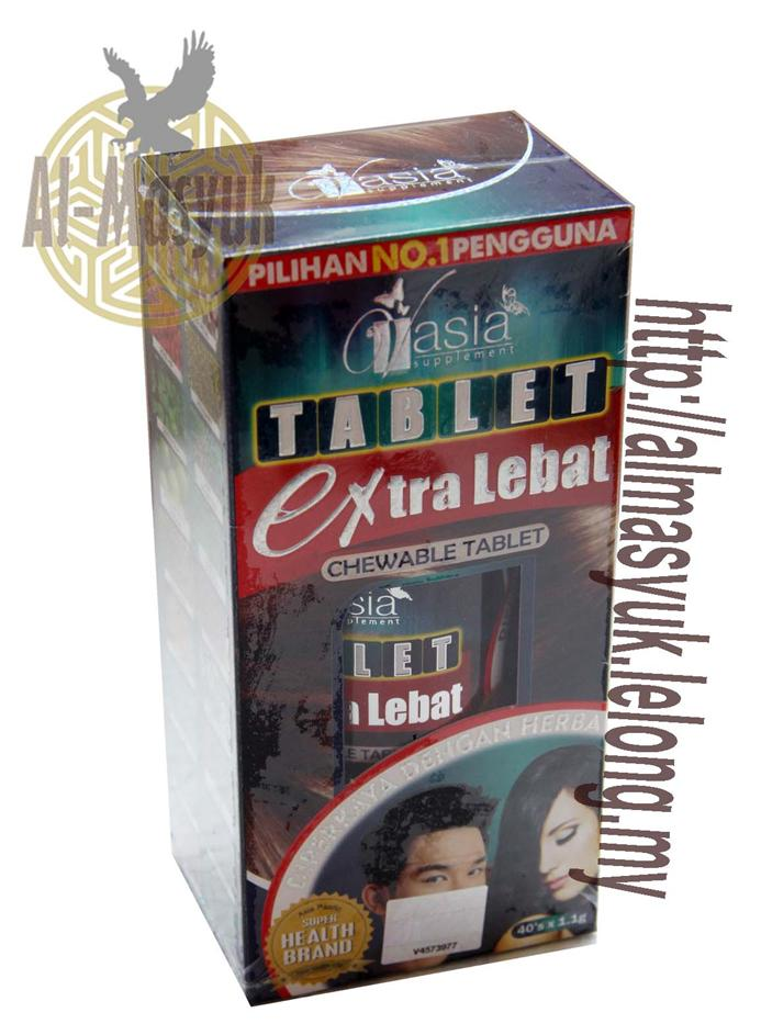 V'Asia Tablet Extra Lebat Chewable Vasia