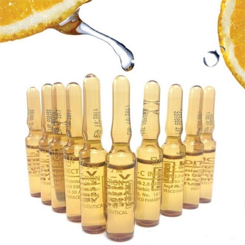 V-C INJECTION 100% VITAMIN C .. 10 Pcs/Box