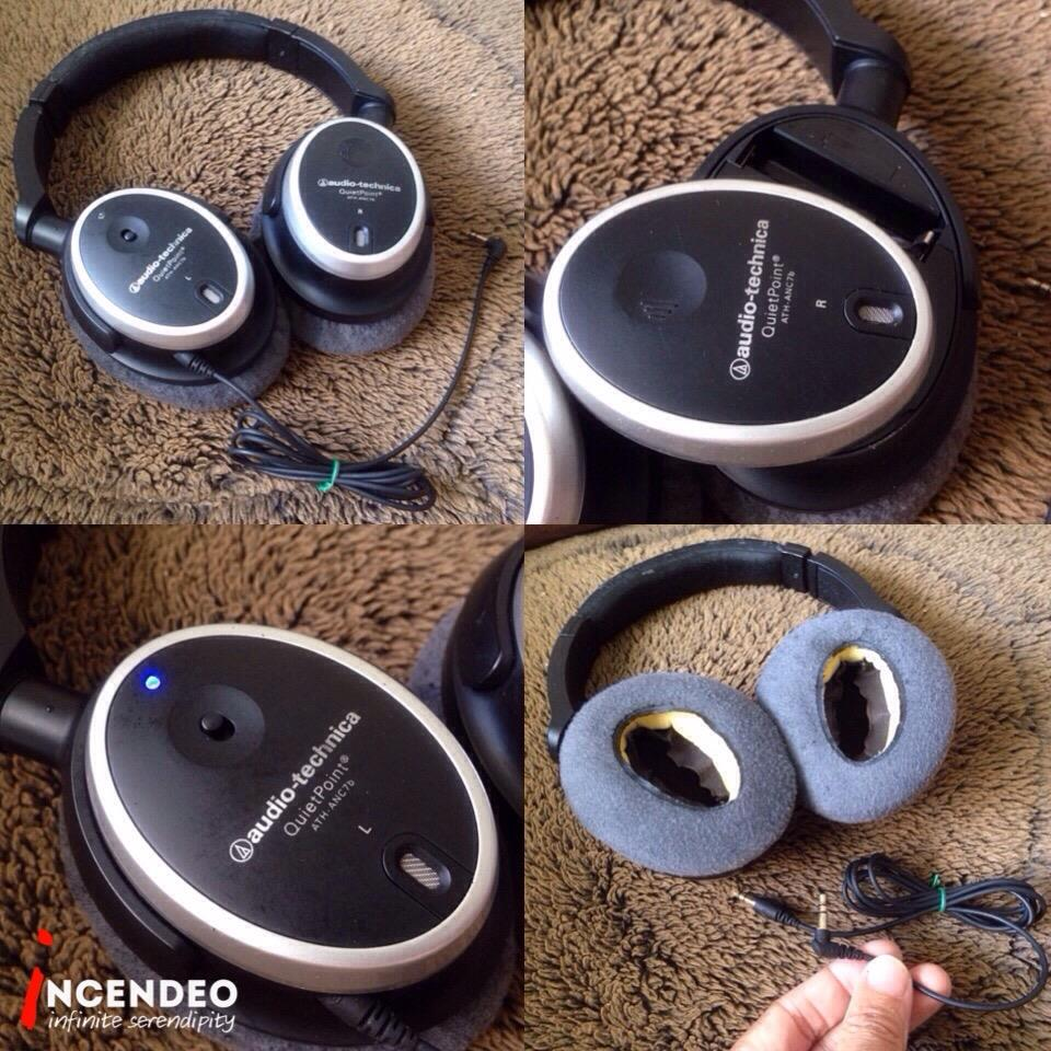 v**incendeo** - audio-technica QuietPoint Noise Cancelling Headphones