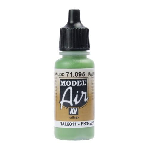 Vallejo Paint Model Air 71.095 Pale Green