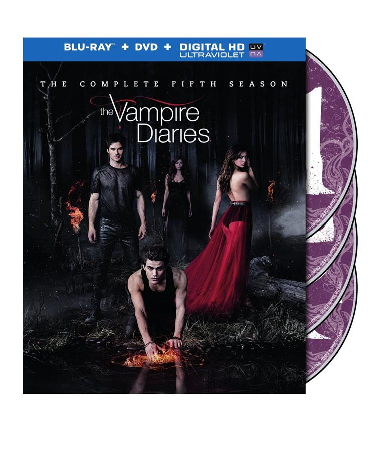 The Vampire Diaries Season 5 Blu-Ray Set (US Import)