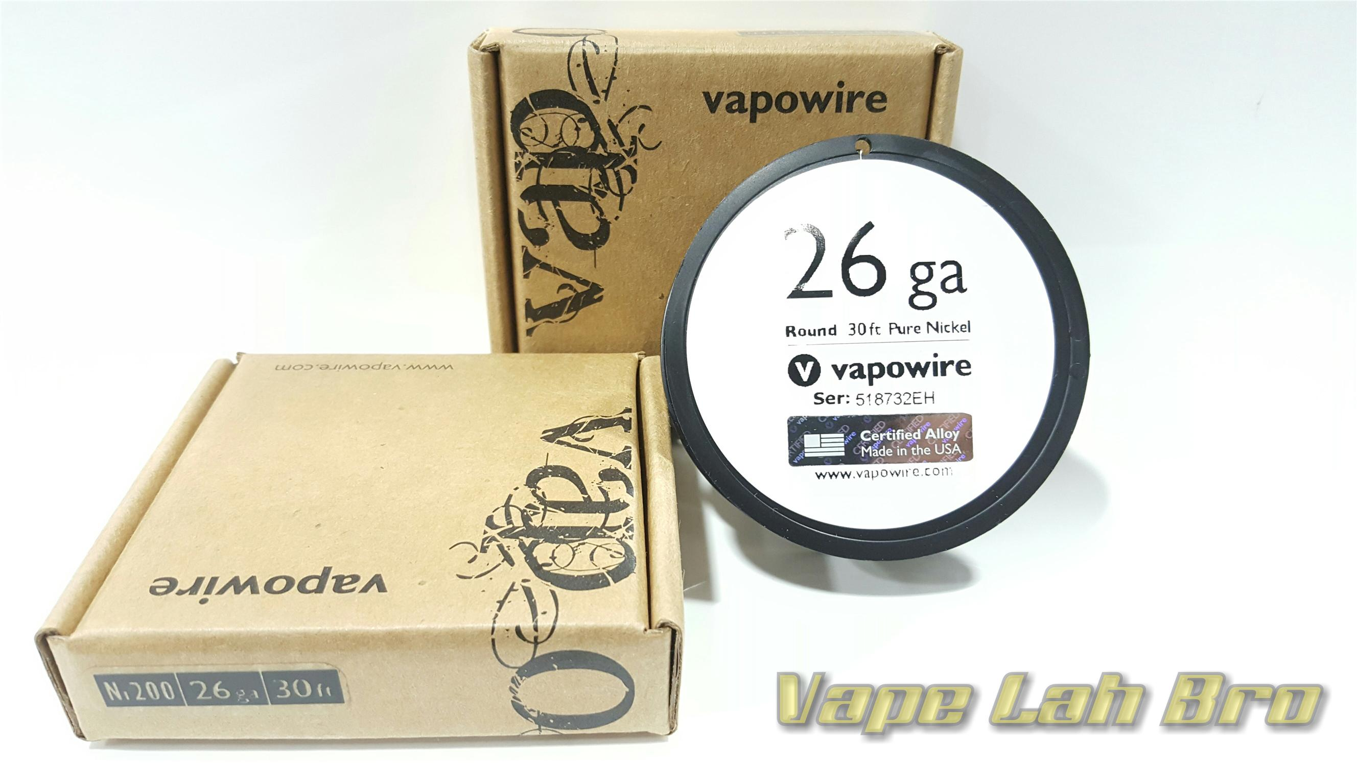 Vapowire 26ga (30ft) NI200 Wire