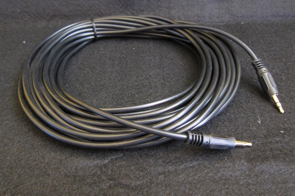 VC Audio Cable 3.5mm to 3.5mm Male 10 Meter