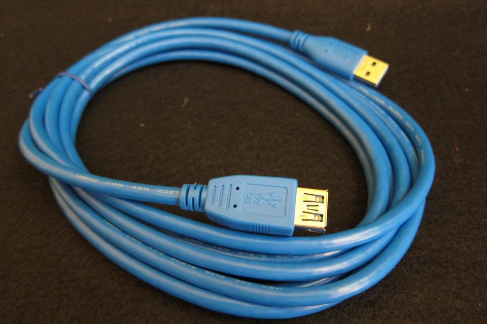 VC USB Cable Extension USB 3.0 AM - AF 3 Meter