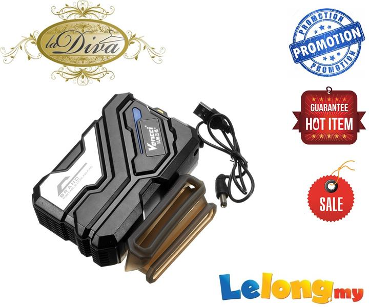 VENCCI DCX-029 LAPTOP MINI STRONG VACUUM COOLER W/ BLUE LED