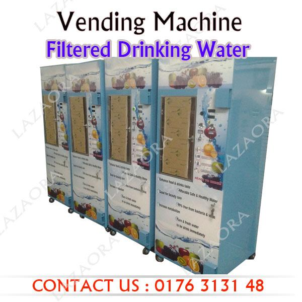 filtered water vending machine
