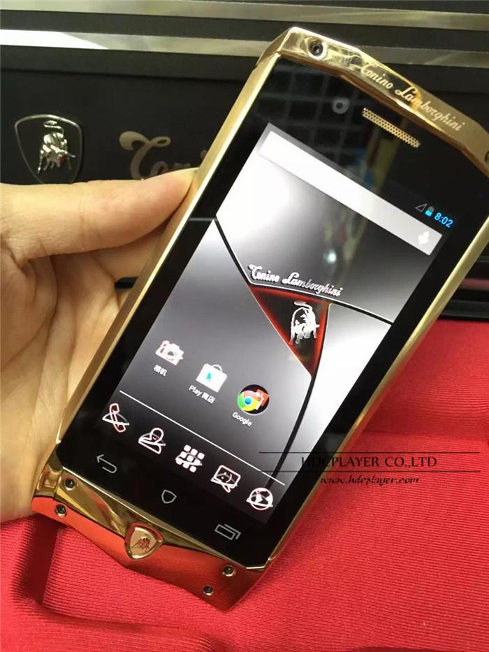 NEW VERTU Lamborghini Tonino Antares (GOLD EDITION)