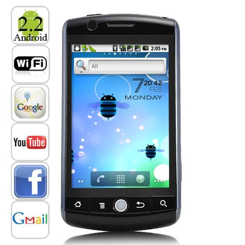 [Vespa79Stall] 3.5 Inch Touch Screen Dual SIM Android 2.2 Smartphone