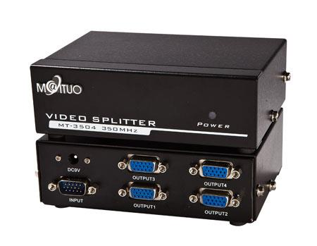 VGA Splitter 4P(350MHz)  by GT ***Top Selling Connectivity Product