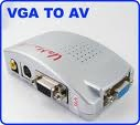VGA001 Standard VGA to AV (composite, s-video) converter