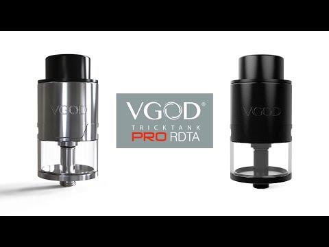 VGOD Styled RDTA Rebuildable Dripping Tank Atomizer (clone)