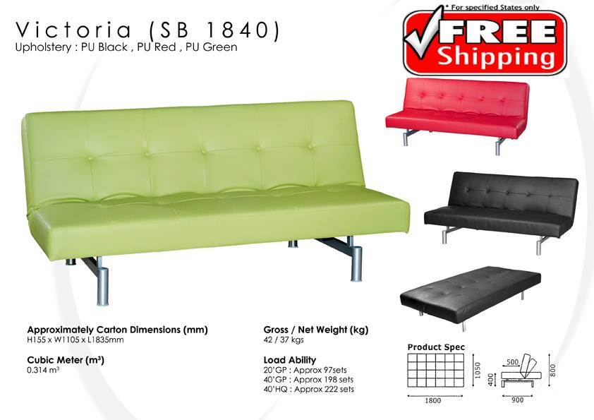Victoria 3 seater sofa bed c end 6 12 2017 12 15 pm myt for Sofa bed penang