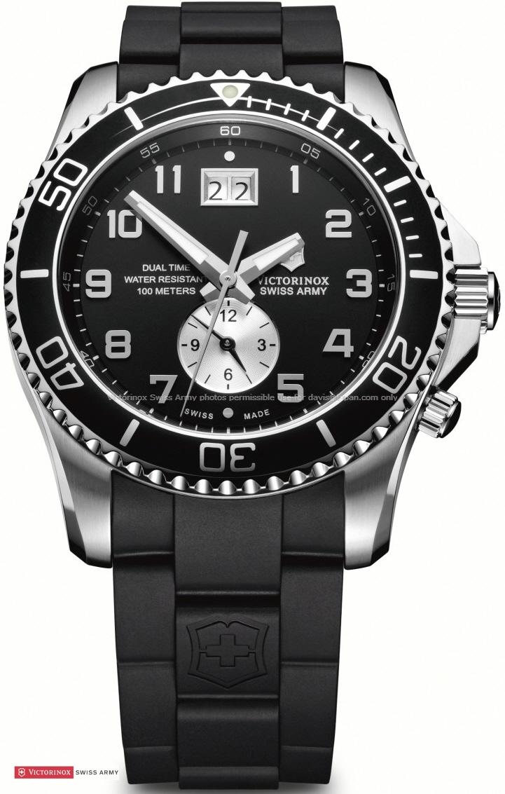 Victorinox Swiss Army 241440 Maverick GS Dual Time Watch