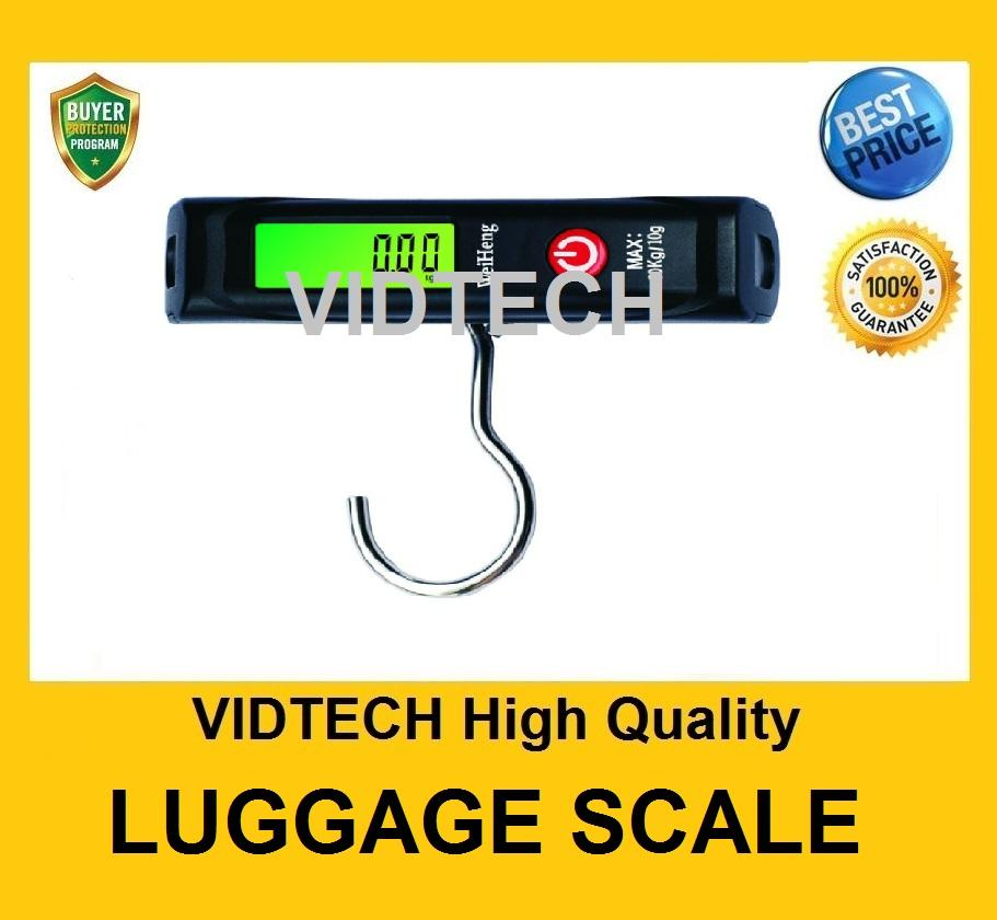 VIDTech Electronic Luggage Scale Max 50Kg