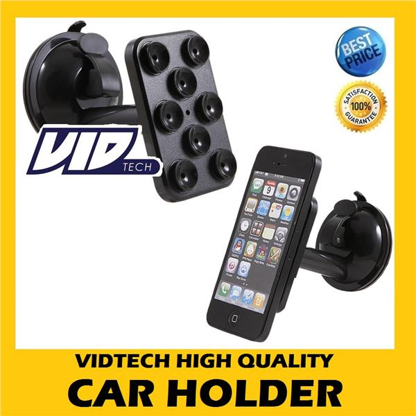 VIDTECH High Quality Spider Suction Cup Car Holder Car Mount