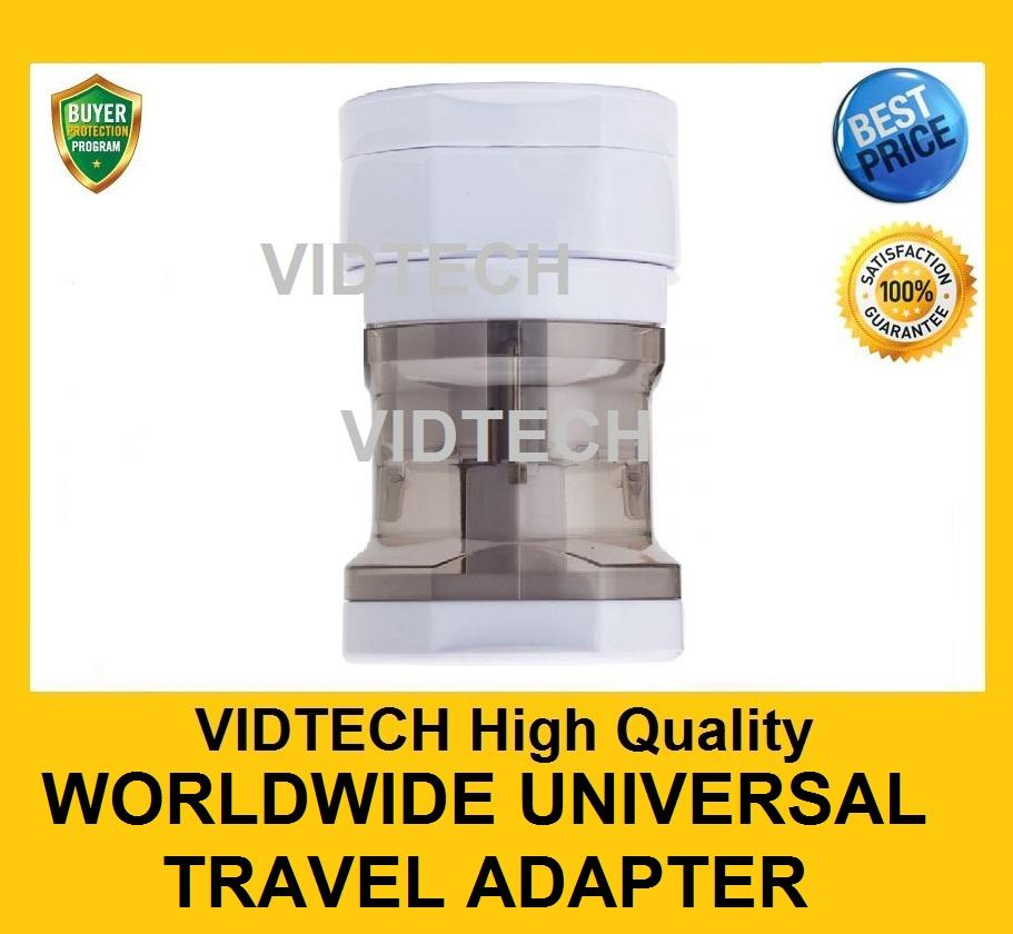 VIDTECH High Quality Worldwide Universal Travel Adapter PROMOTION