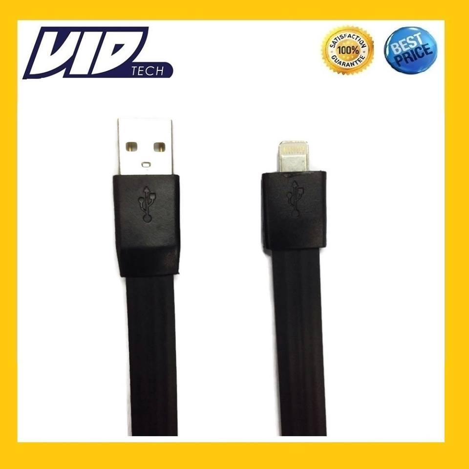 VIDTECH iPhone 5 5s 6 6s Plus USB Data Cable 23cm iPad Mini FAST CHARG