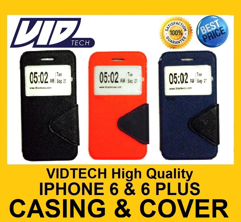 VIDTECH iPhone 6 6 Plus Note 4 XiaoMi 3 Flip Casing HIGH QUALITY