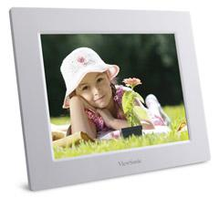 VIEWSONIC DIGITAL PHOTO FRAME 8' 800X600 (VFD823-70P) WHT
