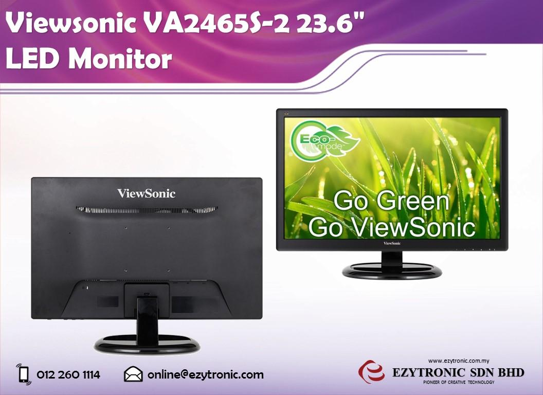 Viewsonic VA2465S-2 23.6' LED Monitor