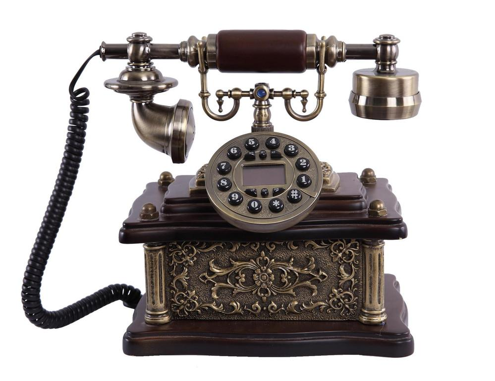 Vintage/Antique Corded Telephone with Caller ID
