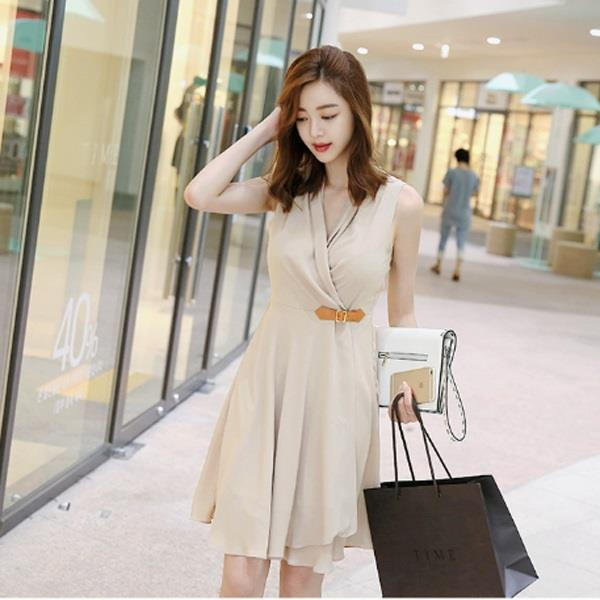 Vintage Design Ladies Loose Fit Dress