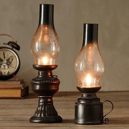 Vintage Retro Nostalgic Home Decoration Classic Longue Kerosene Lamp