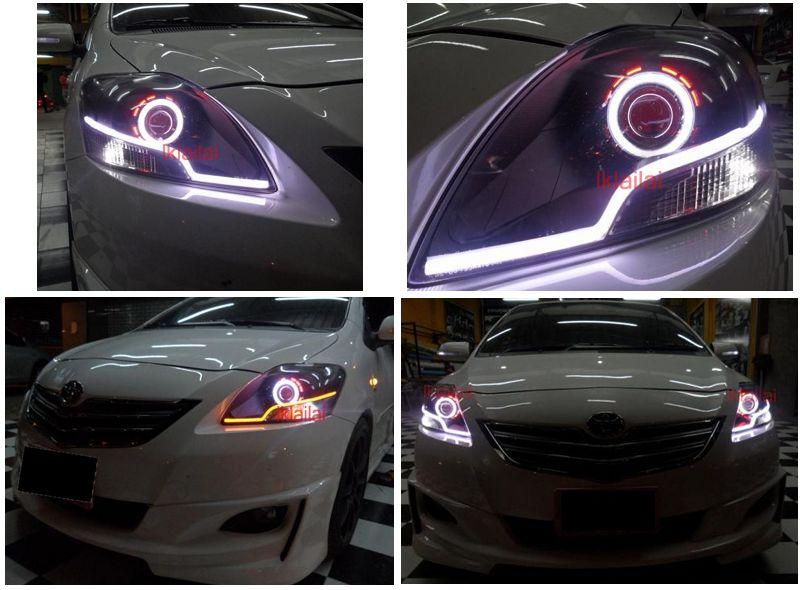 Vios 07 Head Lamp Cool Starline DRL 2-Function [No Projector]